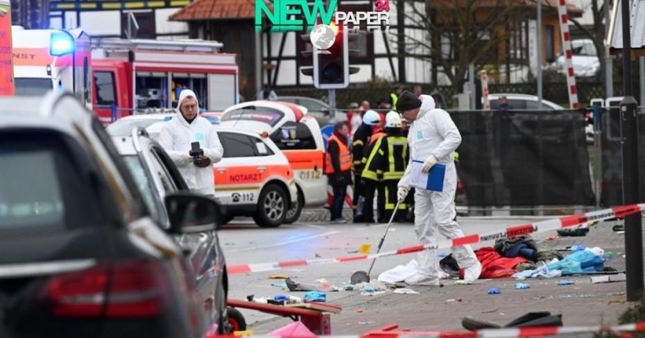Στους 30 οι τραυματίες από την πτώση αυτοκινήτου στη  Φολκμάρζεν της Γερμανίας