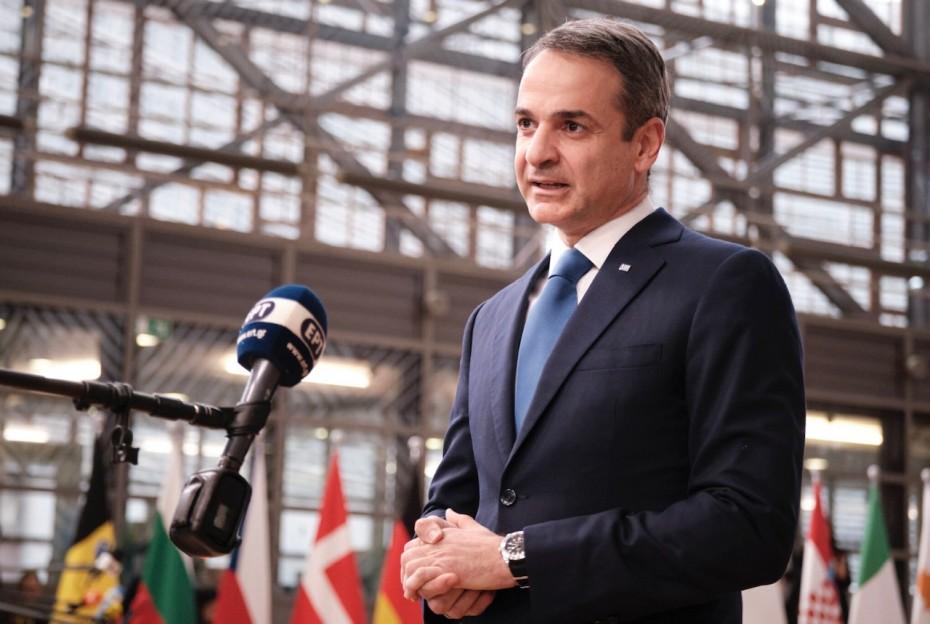 Ενημέρωση Μητσοτάκη στην ΕΕ για την κατάσταση στα ελληνικά σύνορα