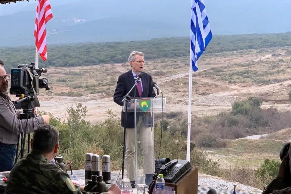 Ξανά ο Πάιατ για τη στρατιωτική συνεργασία Ελλάδας - ΗΠΑ