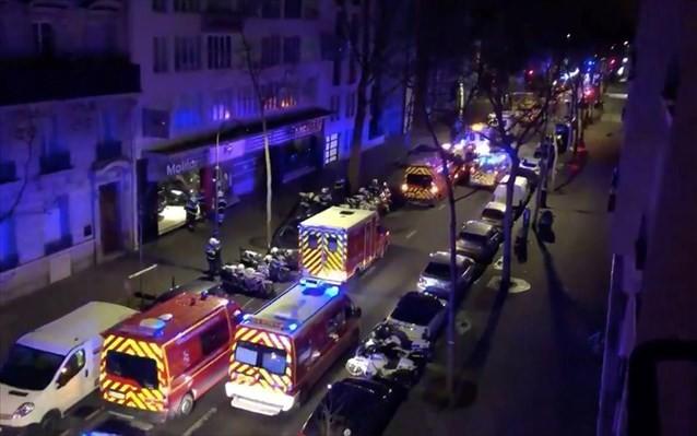 Παρίσι: Μεγάλη πυρκαγιά σε εξέλιξη στην περιοχή Γκαρ ντε Λιόν