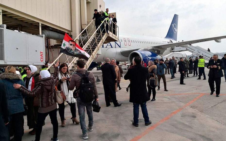Συρία: Επαναλειτούργησε μετά από 8 χρόνια το αεροδρόμιο στο Χαλέπι