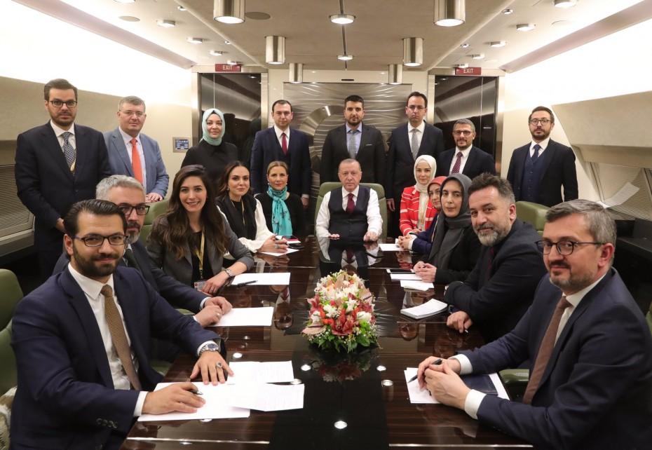Εκ νέου ο Ερντογάν για τις βλέψεις της Τουρκίας στην ανατολική Μεσόγειο