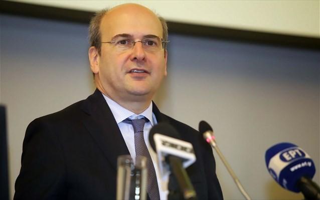 Ικανοποίηση Χατζηδάκη για τις προσφορές στη ΔΕΠΑ Υποδομών