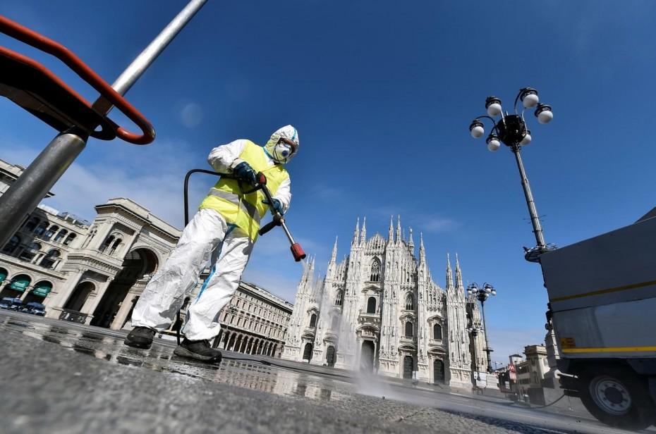 Κοροναϊός στην Ιταλία: Πάνω από 12.000 οι νεκροί - Άνω των 105.000 τα κρούσματα