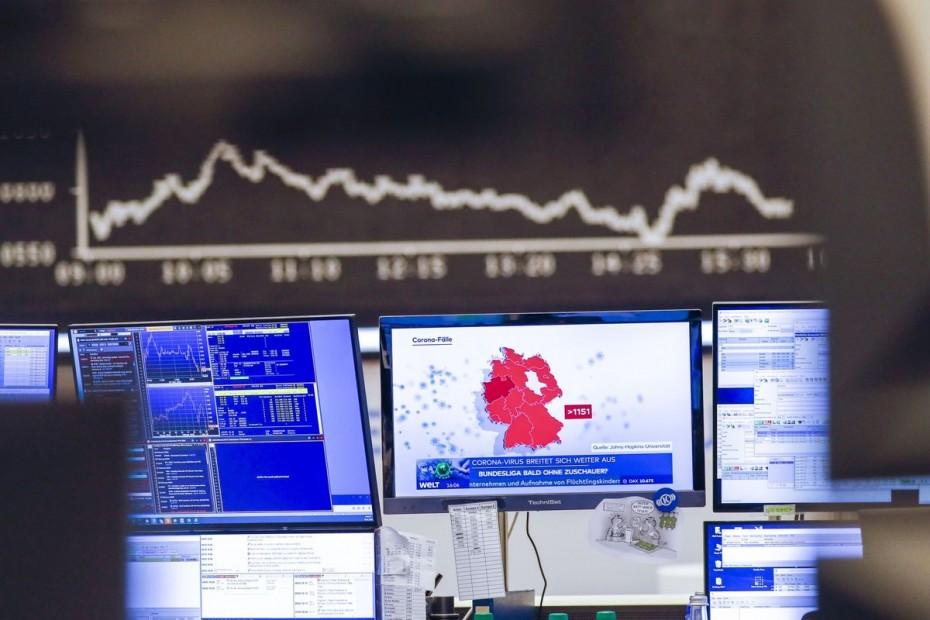 Κατρακύλα στις ευρωαγορές για το τέλος της εβδομάδας λόγω κοροναϊού