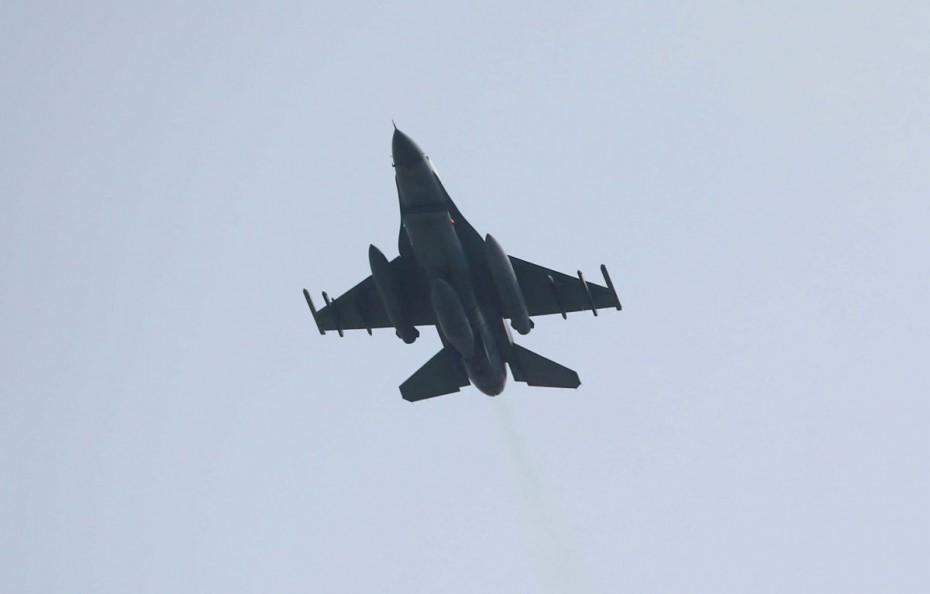 Πτήση τουρκικών F-16 πάνω από τους Λειψούς και το Αγαθονήσι