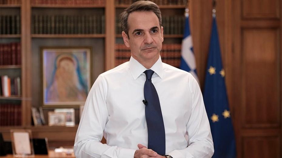 Διάγγελμα Μητσοτάκη για την παρέμβαση της ΕΚΤ