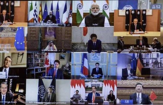 «Ό,τι χρειαστεί» και 5 τρισ. δολάρια από τους G20 κατά του κοροναϊού