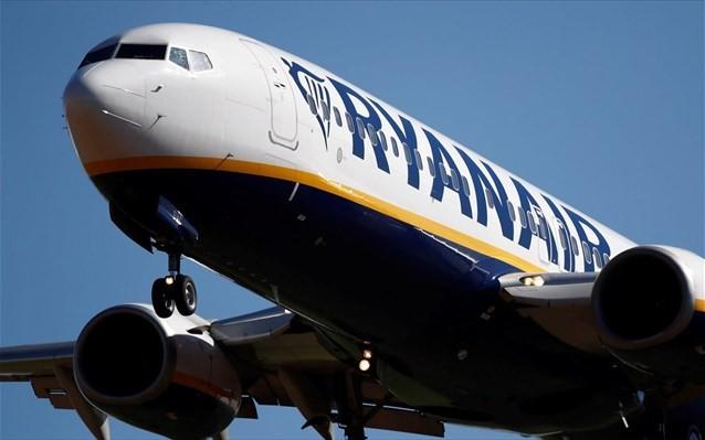 Καθήλωση των περισσότερων πτήσεων της Ryanair λόγω κοροναϊού