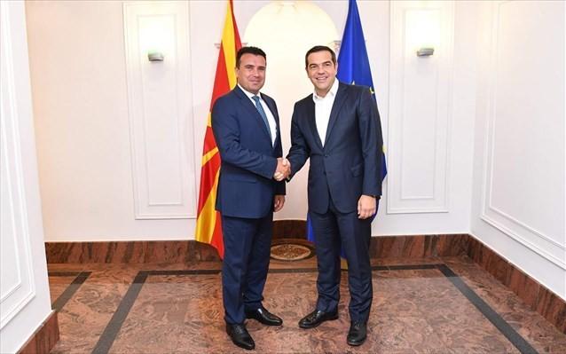 Επικοινωνία Τσίπρα - Ζάεφ για την ένταξη της Β. Μακεδονίας στο NATO