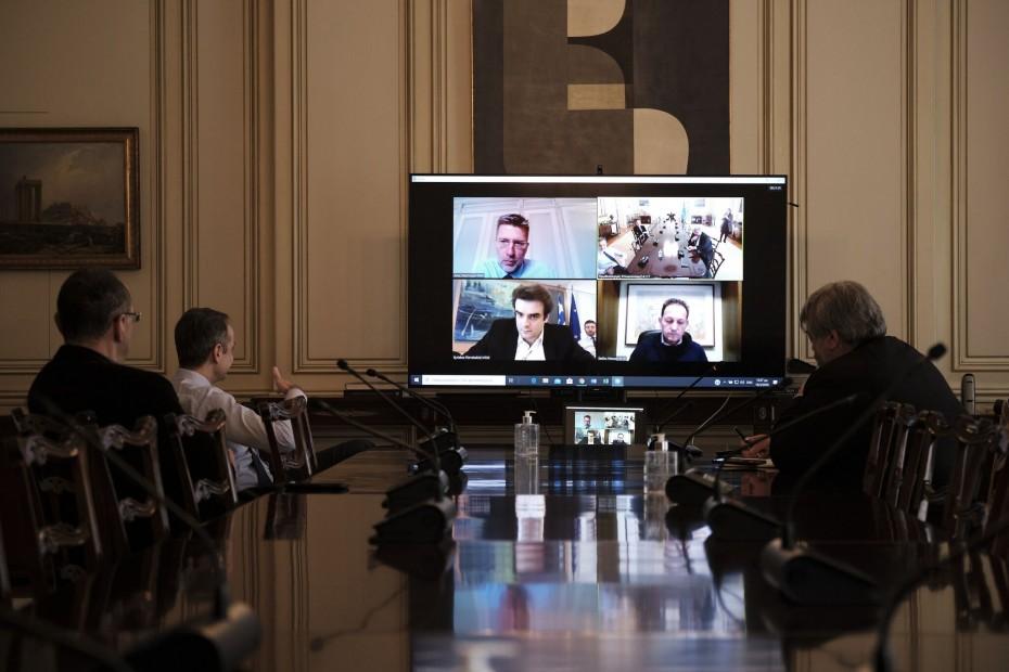 Υπουργικό συμβούλιο μέσω τηλεδιάσκεψης, για τον κοροναϊό