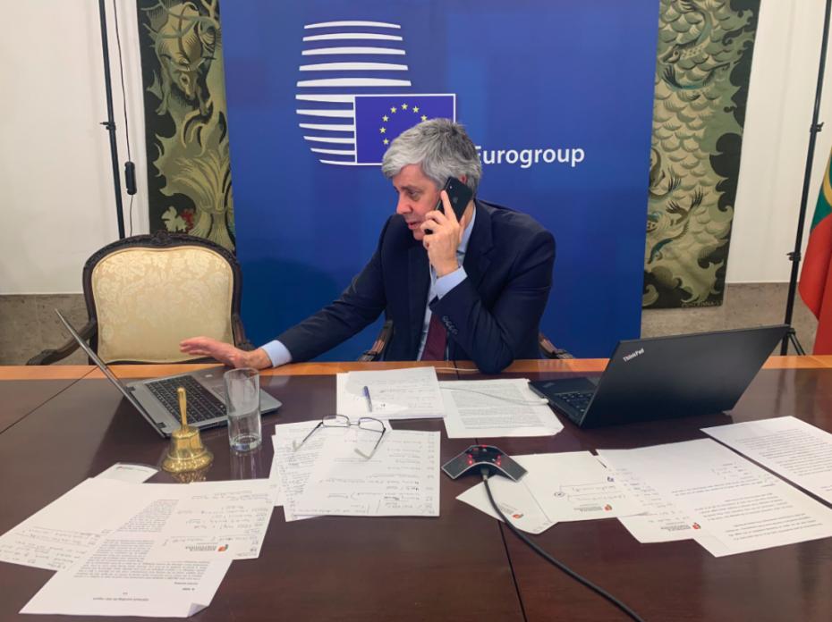 Eurogroup: Σε εξέλιξη η τηλεδιάσκεψη μετά από απανωτές αναβολές