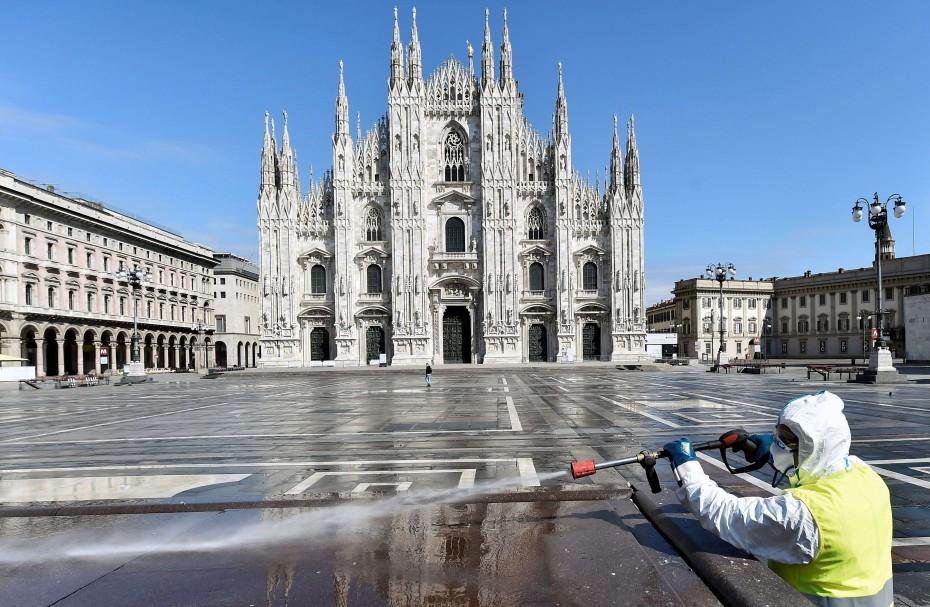 Σχεδόν 140.000 τα κρούσματα του κοροναϊού στην Ιταλία
