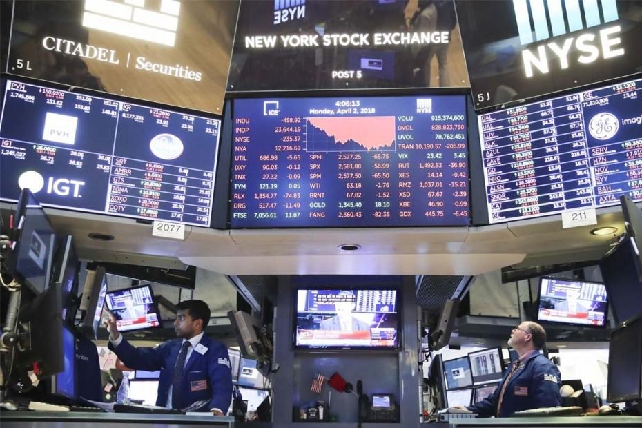 Με μεγάλα κέρδη η εκκίνηση της Wall Street στην εβδομάδα