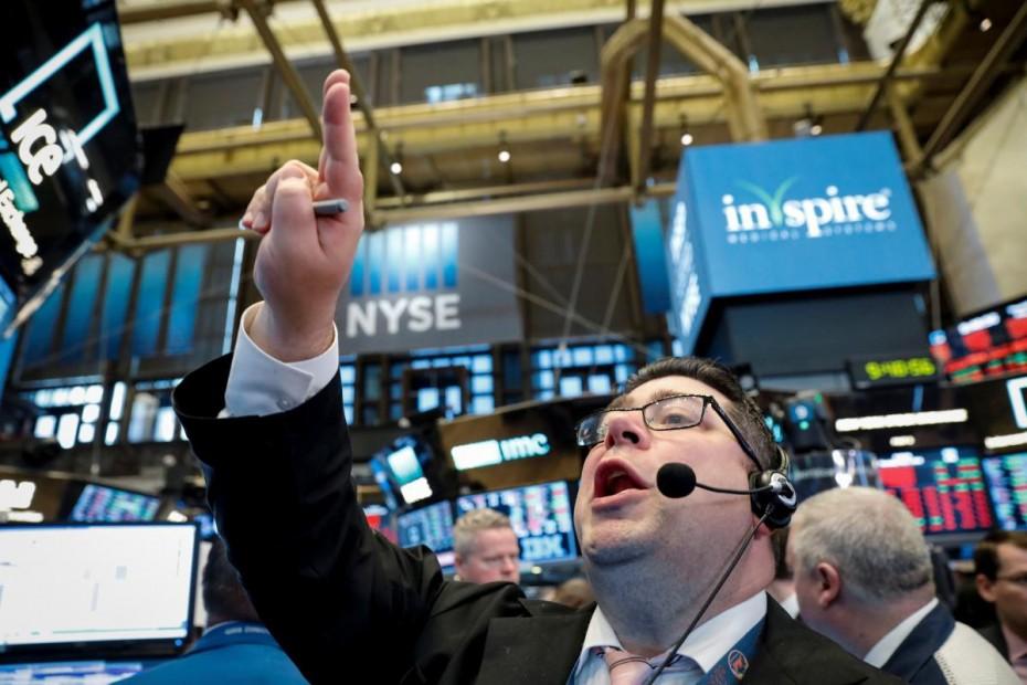 Με επιφυλάξεις το άνοιγμα της Wall Street την Πέμπτη, μετά την ανεργία στις ΗΠΑ
