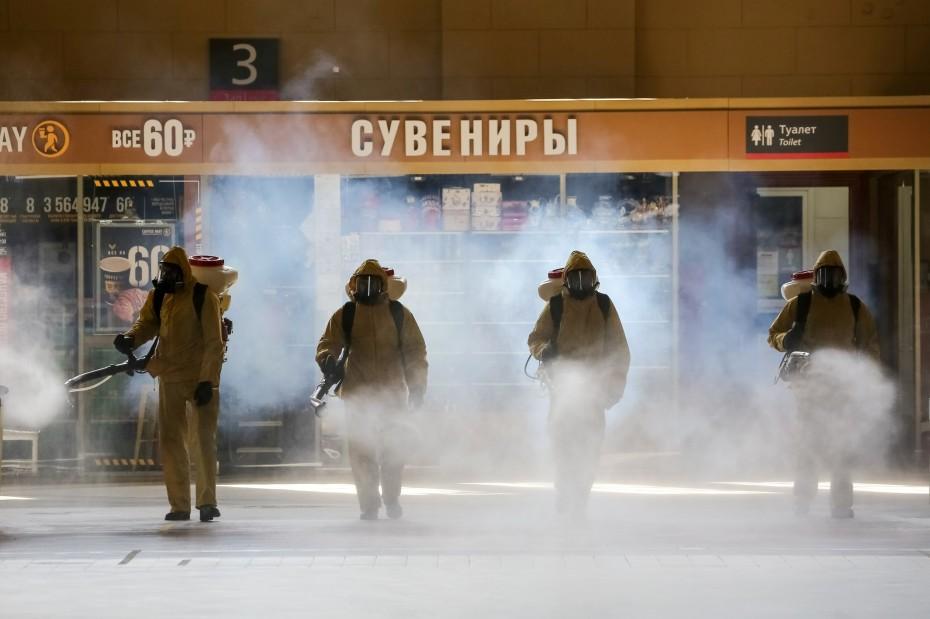 Ξεπέρασαν τους 3.000 οι νεκροί από τον κοροναϊό στη Ρωσία