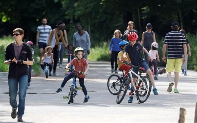 Η Γαλλία ανοίγει και πάλι από τις 2 Ιουνίου τα πάρκα στο Παρίσι