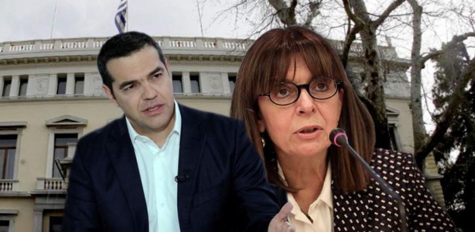 Συνάντηση Τσίπρα με Σακελλαροπούλου την Παρασκευή