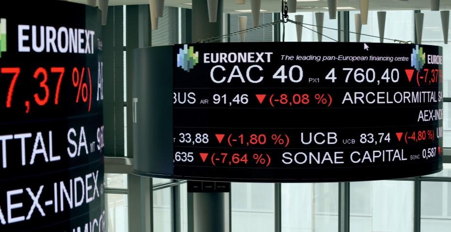 Κάτω οι ευρωαγορές για την Πέμπτη, μετά την ΕΚΤ