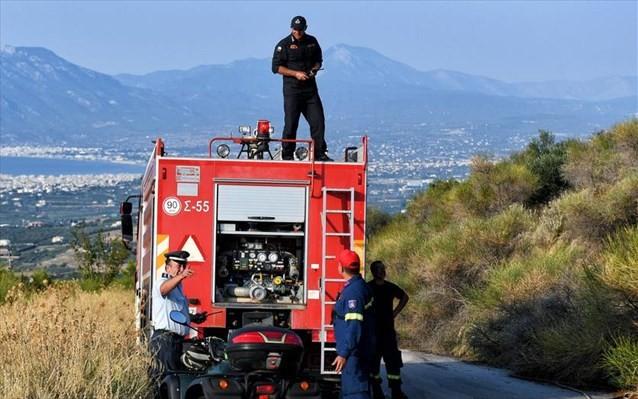 Δύο τραυματίες από ανατροπή πυροσβεστικού οχήματος στην Αχαΐα