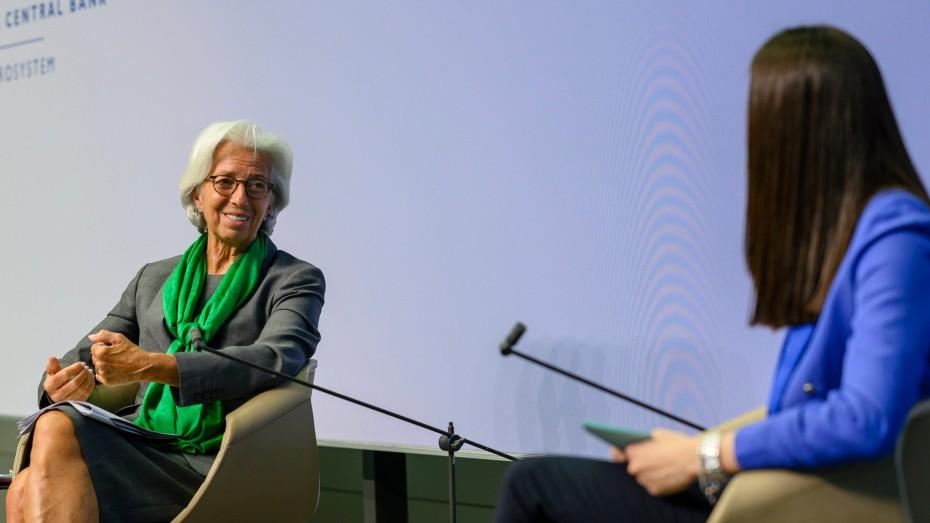 Η Λαγκάρντ αναμένει ύφεση 8,7% για την Ευρωζώνη το 2020