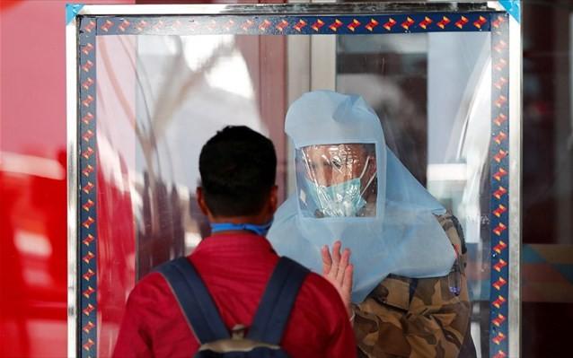 H Ινδία έκτη στον κόσμο σε αριθμό κρουσμάτων κοροναϊού