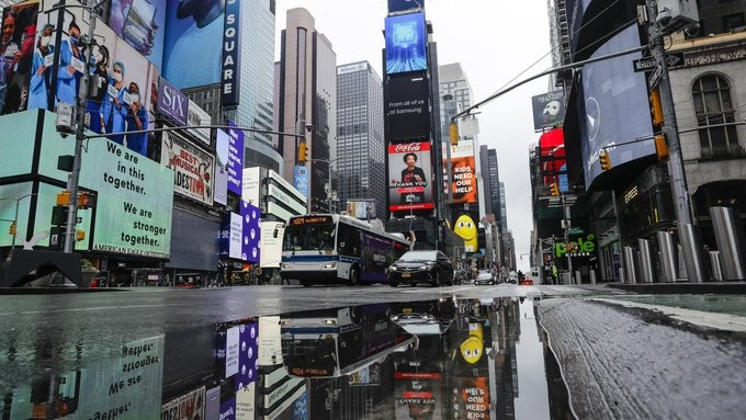 Μέχρι την Κυριακή η απαγόρευση κυκλοφορίας στη Νέα Υόρκη