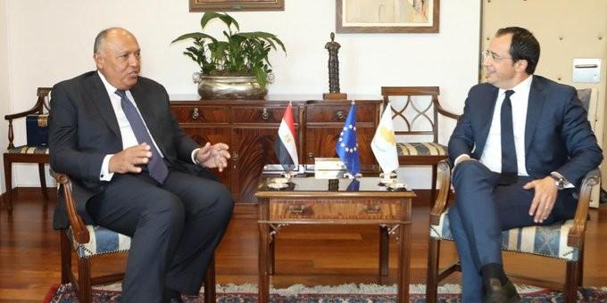 Συζήτηση των ΥΠΕΞ Κύπρου και Αιγύπτου