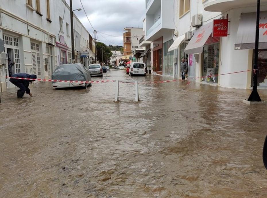 ΥΠΕΣ: 200.000 ευρώ στο δήμο Λέρου μετά τις καταστροφές από την κακοκαιρία
