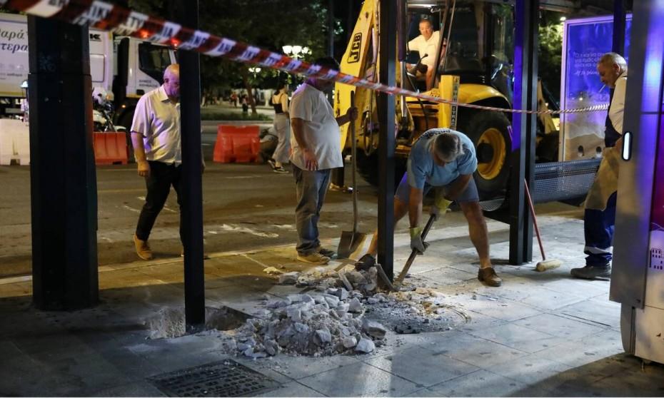 Μεγάλος Περίπατος: Ξεκίνησαν τα έργα στην πλατεία Συντάγματος