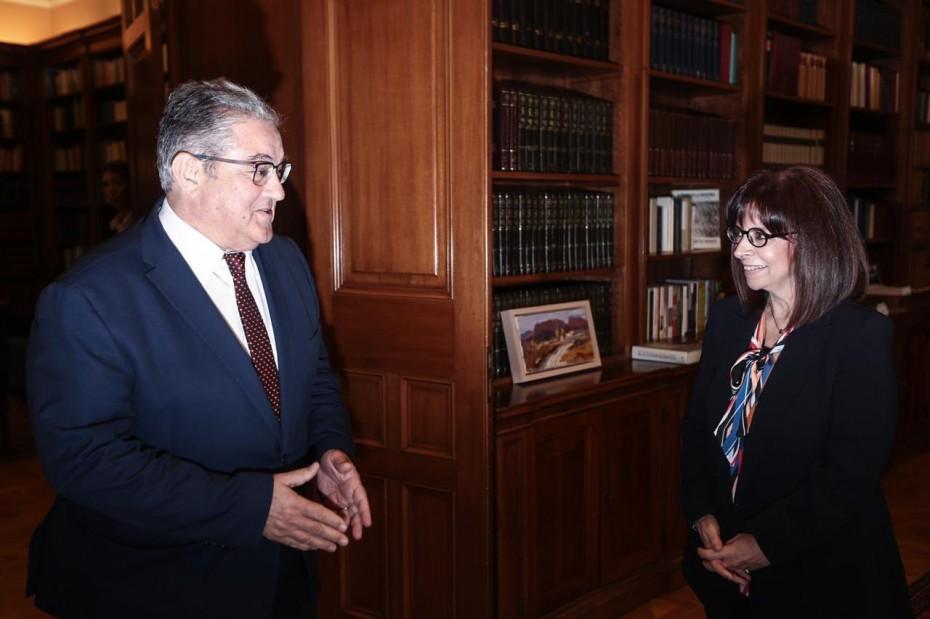 Απαράδεκτες οι νέες μεθοδεύσεις της Τουρκίας, τόνισε η Σακελλαροπούλου