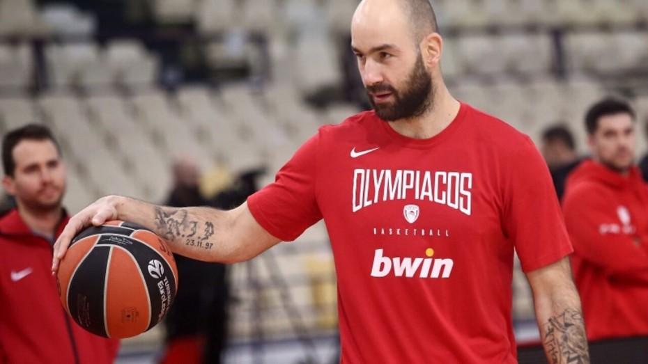 Μπάσκετ: Η πρώτη προπόνηση για τον Σπανούλη μετά από 4 μήνες
