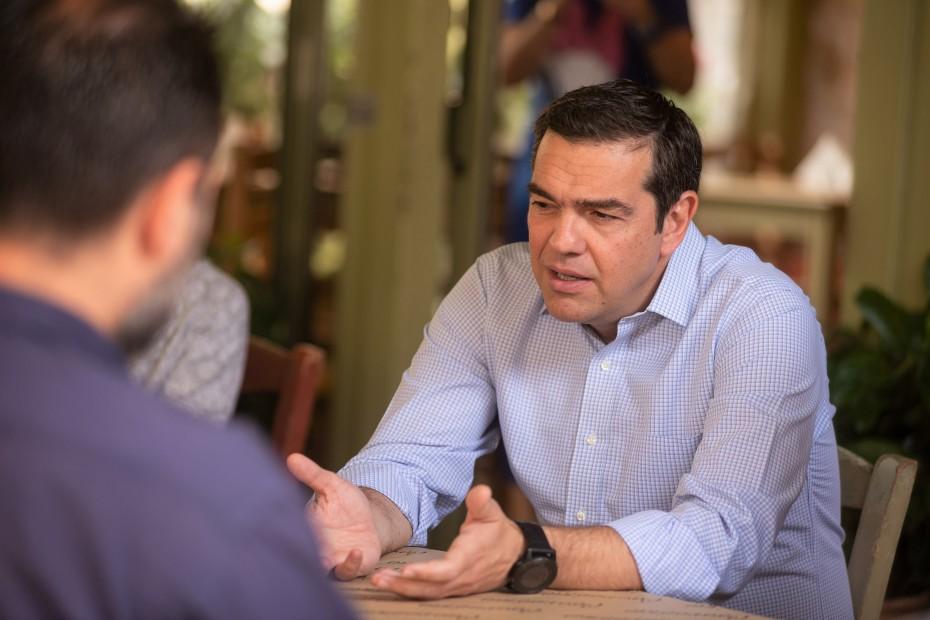 Τυχοδιωκτισμός οι προώρες εκλογές, υπογραμμίζει ο Τσίπρας