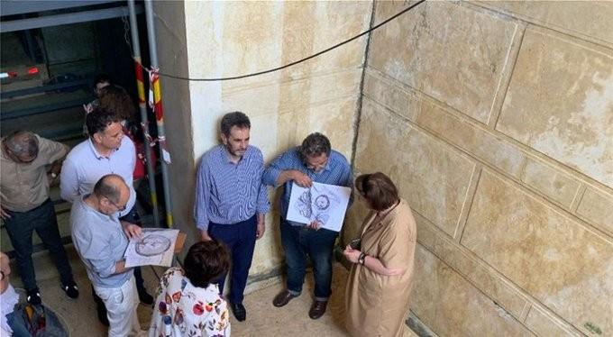 Ξεκίνησαν οι εργασίες για την προστασία του ταφικού μνημείου στην Αμφίπολη
