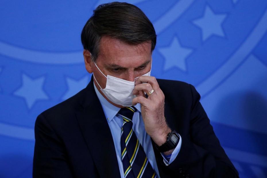 Οριστικά θετικός στον κοροναϊό ο πρόεδρος της Βραζιλίας, Μπολσονάρου