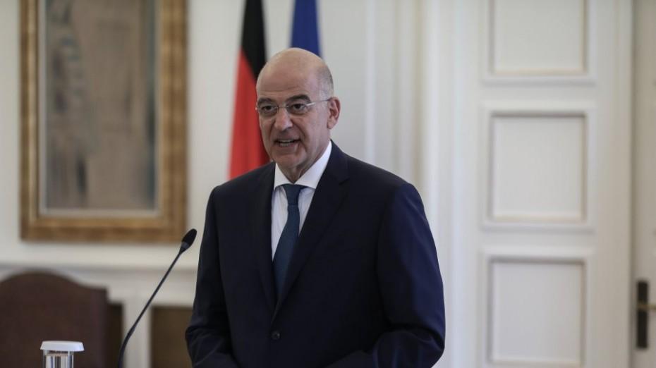 Συνεχιζόμενες διπλωματικές επαφές Δένδια για την Ανατολική Μεσόγειο