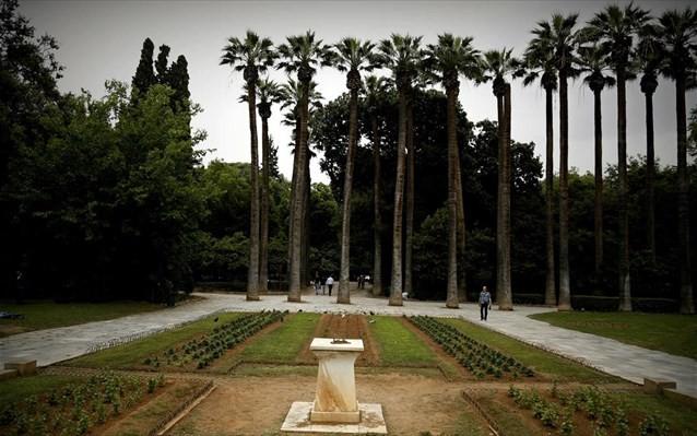 ΥΠΕΝ: 2,12 εκατ. ευρώ για την αποκατάσταση του Εθνικού Κήπου και του Λόφου Φιλοπάππου