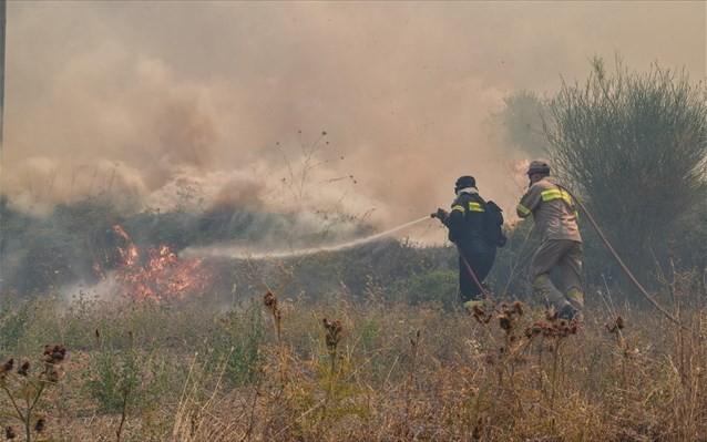 Που είναι υψηλότερος ο κίνδυνος εκδήλωσης πυρκαγιάς για το Σάββατο