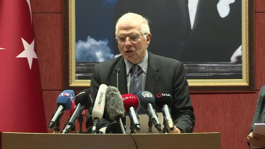 Επίσκεψη του επικεφαλής Εξωτερικών της ΕΕ στην Τουρκία την ερχόμενη εβδομάδα