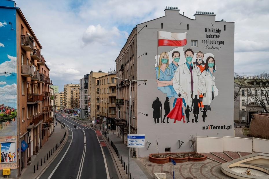 Ρεκόρ νέων κρουσμάτων του κορονοϊού στην Πολωνία