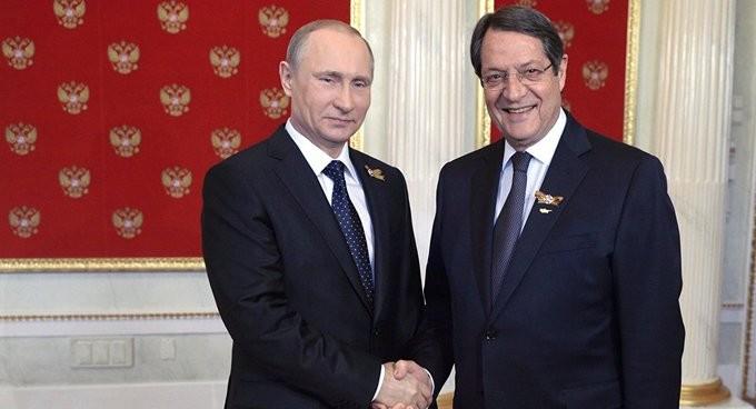 Επικοινωνία Αναστασιάδη με Πούτιν για την τουρκική προκλητικότητα