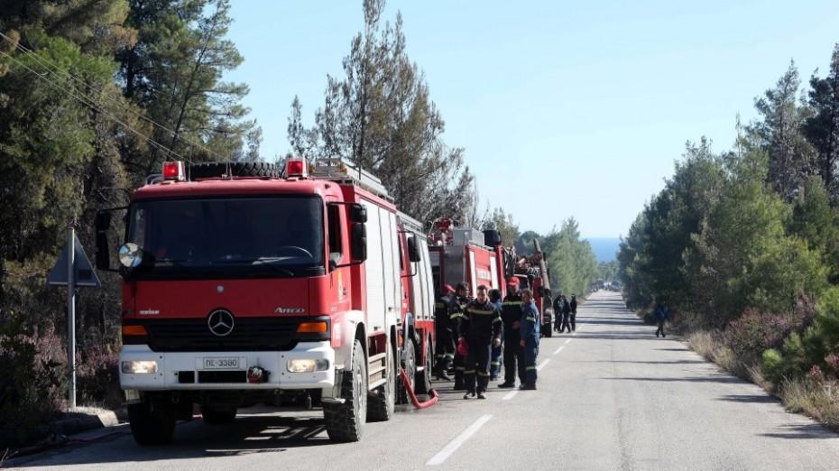 Που είναι υψηλότερος ο κίνδυνος πυρκαγιάς την Τρίτη