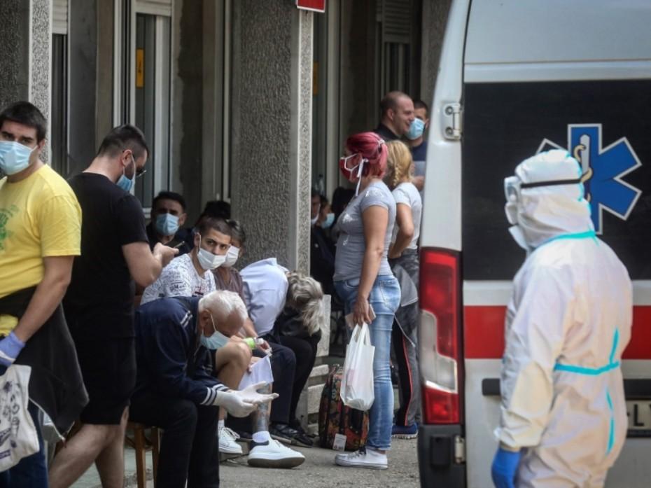 Επιδεινώνεται η εξάπλωση του κοροναϊού στη Σερβία