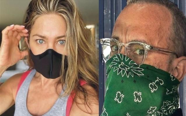 Τομ Χανκς και Τζένιφερ Άνιστον καλούν τους πολίτες να φορούν μάσκες