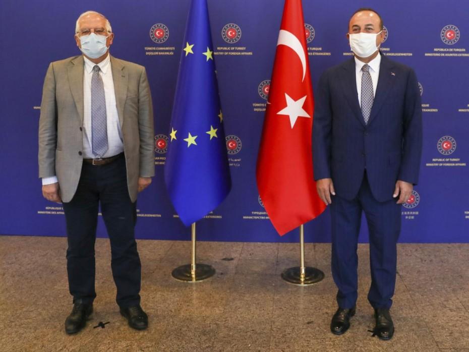 Στο «περίμενε» για νέες κυρώσεις προς Τουρκία η ΕΕ