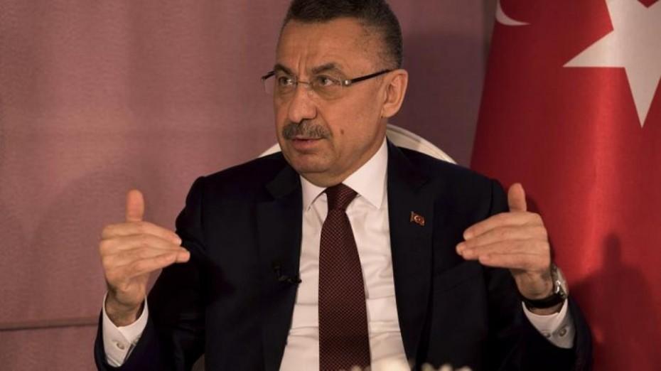 Τούρκος αντιπρόεδρος: Ζητάμε αποστρατικοποίηση των νησιών του Αιγαίου