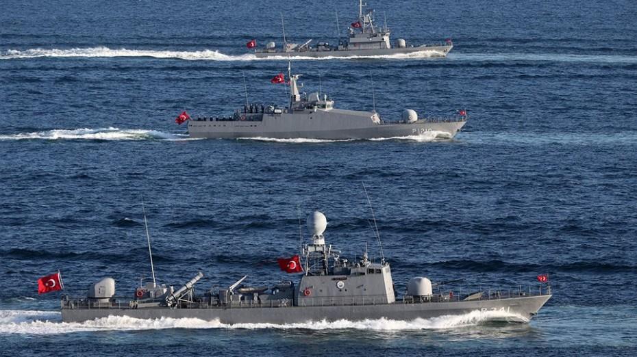 Σταδιακή απομάκρυνση των τουρκικών πλοίων στο Αιγαίο
