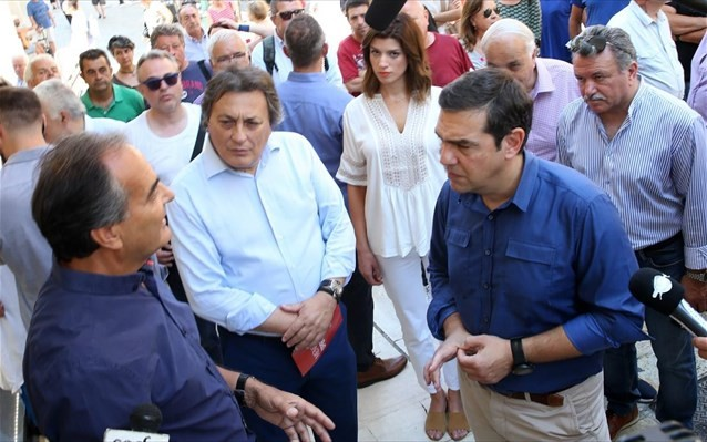 Περιοδεία Τσίπρα στην Κέρκυρα - Και πάλι κατά της κυβέρνησης για τον τουρισμό