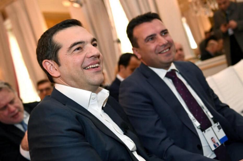 Συγχαρητήρια Τσίπρα σε Ζάεφ για τις εκλογές στη Βόρεια Μακεδονία