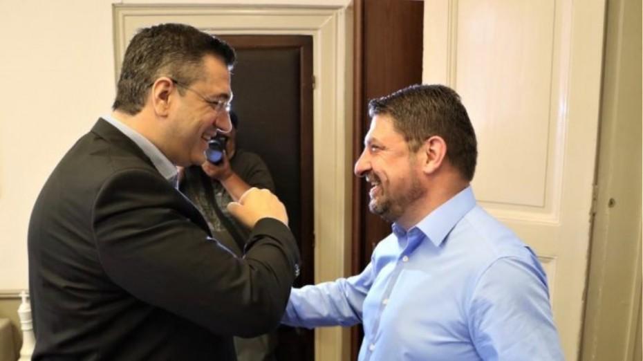 Έκτακτη τηλεδιάσκεψη Ζέρβα - Τζιτζικώστα με Χαρδαλιά και Τσιόδρα